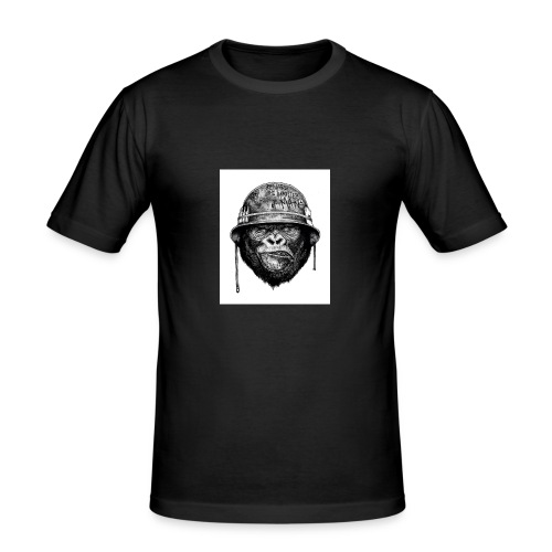 monkey man - Men's Slim Fit T-Shirt