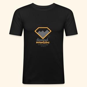 Diamond - Obcisła koszulka męska