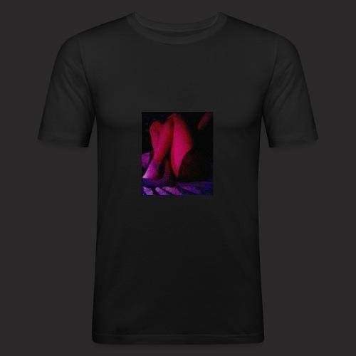 Neon night - Slim Fit T-shirt herr