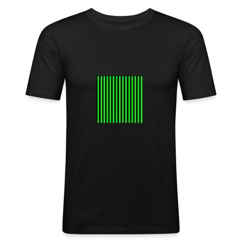 The henrymgreen Stripe Multi - Men's Slim Fit T-Shirt