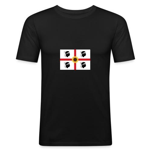Girasoli_Sardegna - Männer Slim Fit T-Shirt