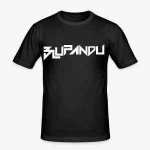 BLUPANDU - Männer Slim Fit T-Shirt