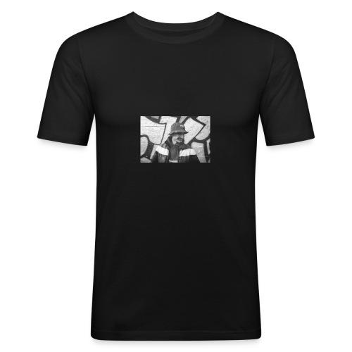 Portrait - T-shirt près du corps Homme