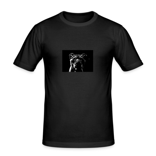Black Tiger - Männer Slim Fit T-Shirt