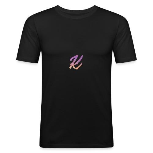 K Logo - Men's Slim Fit T-Shirt