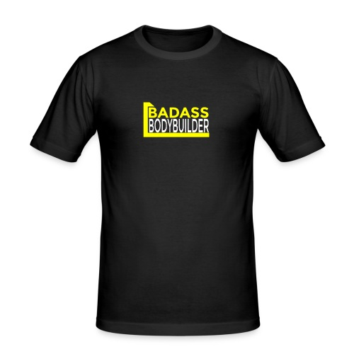 Badass Bodybuilder - Männer Slim Fit T-Shirt