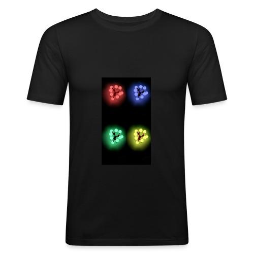 Lights - T-shirt près du corps Homme