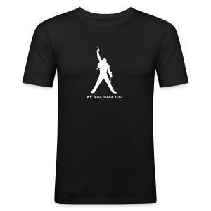 WE WILL GLOCK YOU - Männer Slim Fit T-Shirt