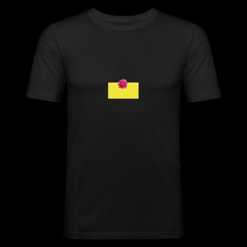 flower - Slim Fit T-skjorte for menn