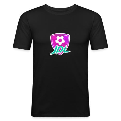Logotipo del canal de JDL - Camiseta ajustada hombre