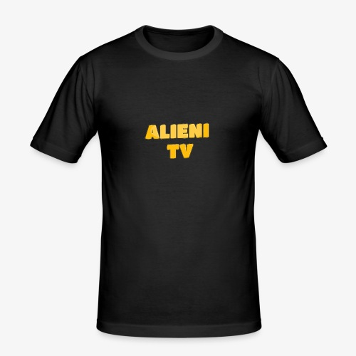 AlieniTv T-Shirt - Men's Slim Fit T-Shirt