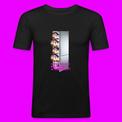 #enge_dingen_in_je_koel_kast - slim fit T-shirt