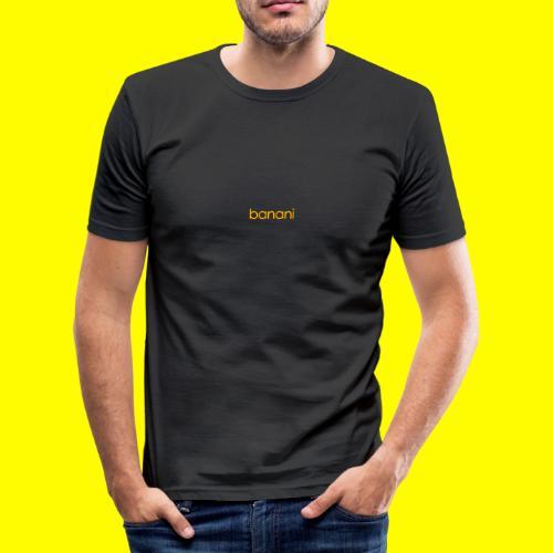 Banani-Schriftzug - Männer Slim Fit T-Shirt