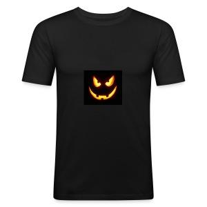 Pumkin scary - Männer Slim Fit T-Shirt
