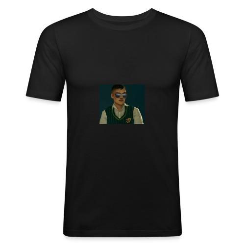 Larrytoba Merch - Männer Slim Fit T-Shirt