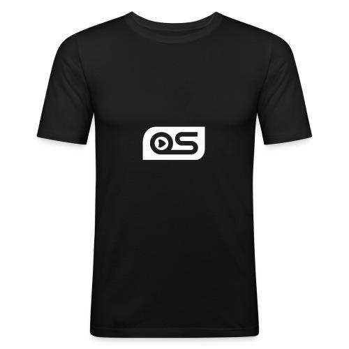 Logo OS - T-shirt près du corps Homme