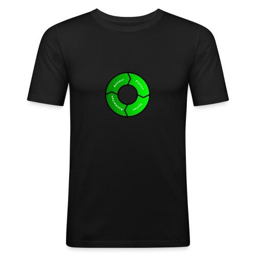 PDCA 1 - Männer Slim Fit T-Shirt