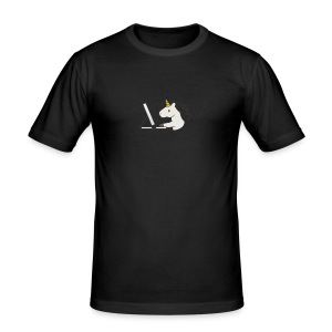 Unicorn Work - Men's Slim Fit T-Shirt