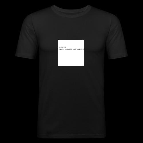 Where Are u? - Obcisła koszulka męska