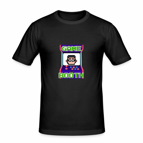 GameBooth Icon Logo - Men's Slim Fit T-Shirt
