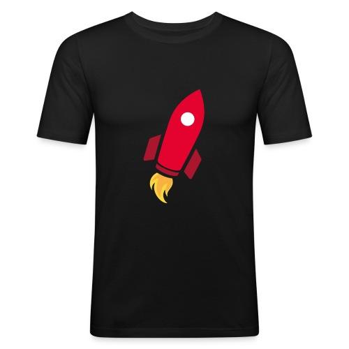 REDROCKET - T-shirt près du corps Homme