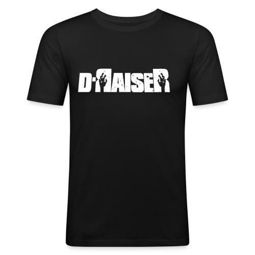 D RAISER LOGO BLANCO - Camiseta ajustada hombre