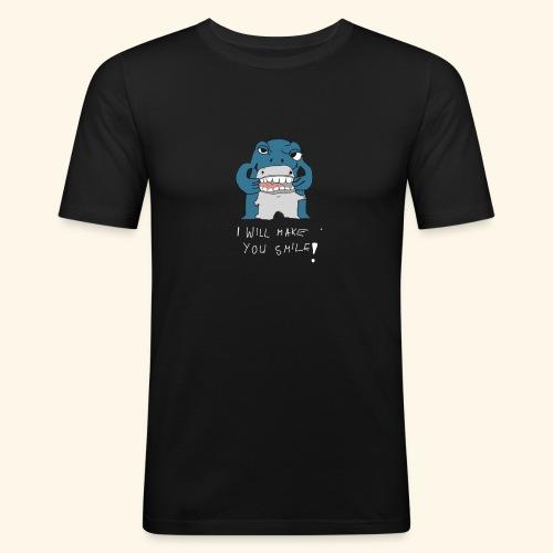 I Will Make Smile - Männer Slim Fit T-Shirt