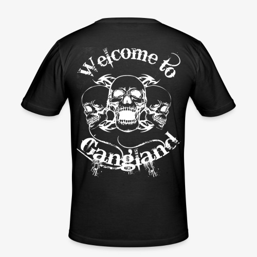 welcome to gangland - Slim Fit T-shirt herr
