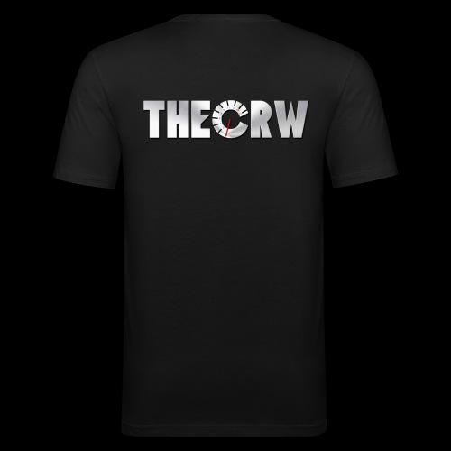 THECRW LOGO - Männer Slim Fit T-Shirt