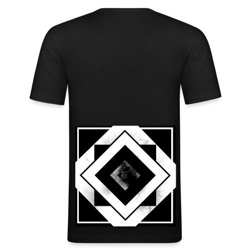 Black Mist - Men's Slim Fit T-Shirt