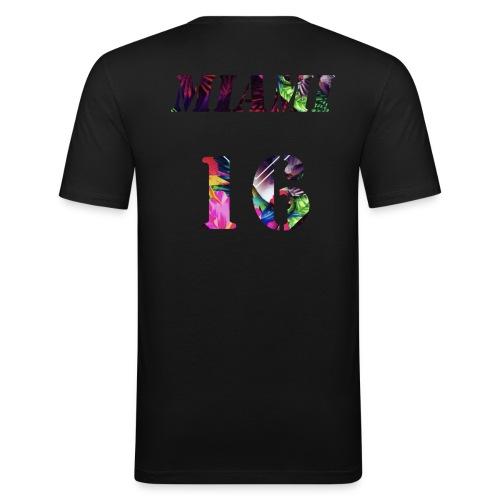 Miamia 16 baby - Männer Slim Fit T-Shirt