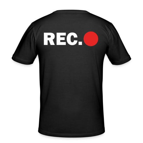 Cameraman Cap - slim fit T-shirt