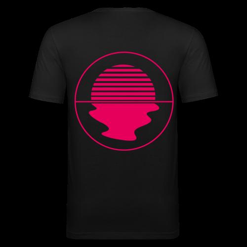 Noctunal Logo Hotpink - slim fit T-shirt