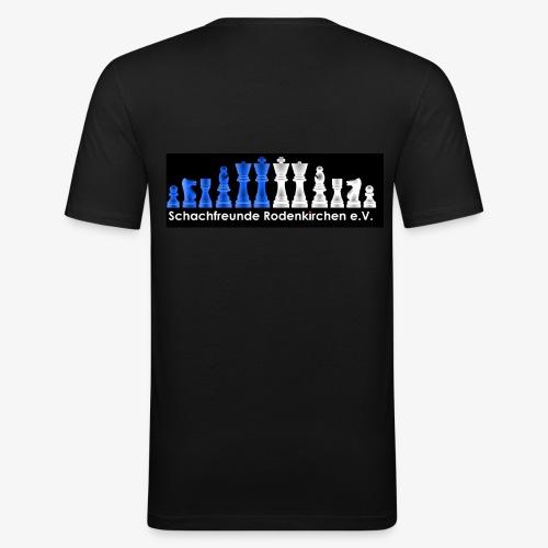 Schachfreunde Rodenkirchen Vereinshemd - Männer Slim Fit T-Shirt