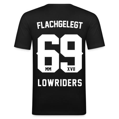 flachgelegt lowriders - Männer Slim Fit T-Shirt
