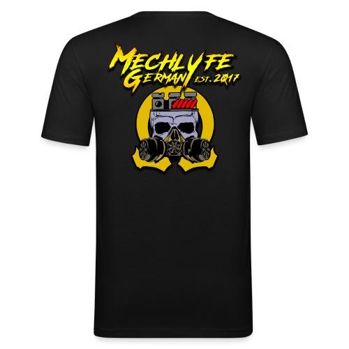 MG Logo mit Schrift groß - Männer Slim Fit T-Shirt