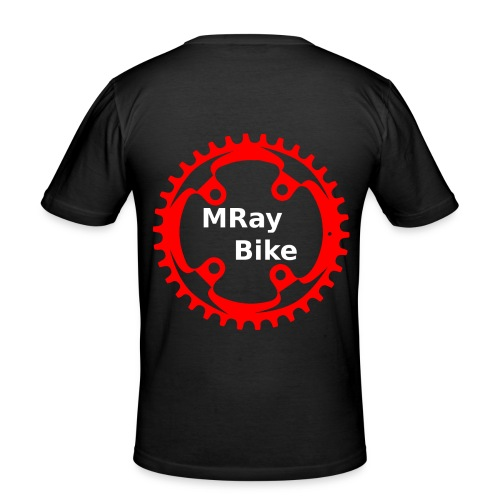 MRay Merch - Männer Slim Fit T-Shirt