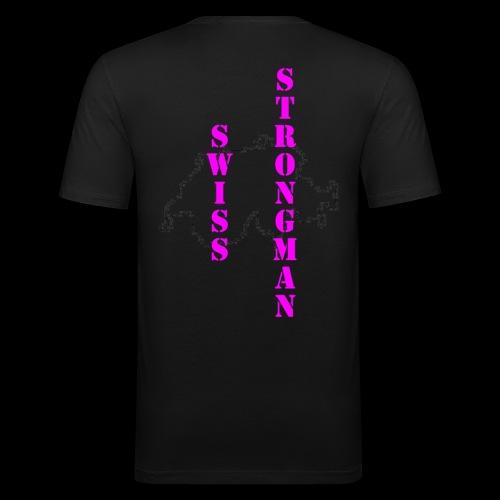 Swiss FSA T Shirt Swiss Strongman 1 - Männer Slim Fit T-Shirt