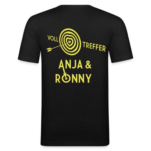 Anja und Ronny - Männer Slim Fit T-Shirt