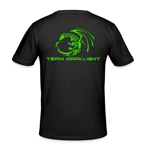 TEAM DARKLIGHT SHOP - Herre Slim Fit T-Shirt