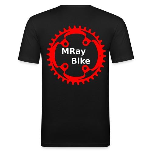 MRay Merch - Männer Slim Fit T-Shirt