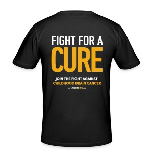 Fight For A Cure - Männer Slim Fit T-Shirt