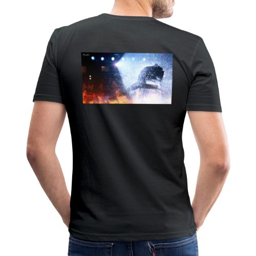 flashdance 2 0 - Männer Slim Fit T-Shirt