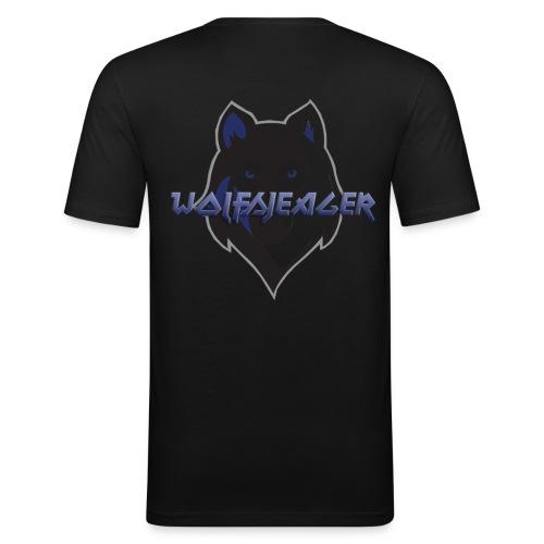 WolfsJeager - Männer Slim Fit T-Shirt
