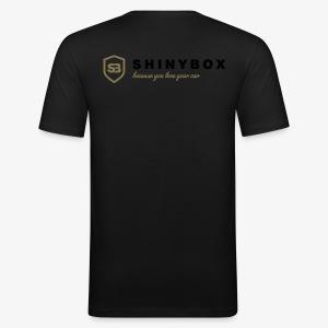 Shiny Box - Männer Slim Fit T-Shirt