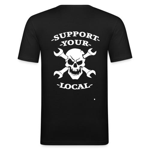 SYL VIT - Slim Fit T-shirt herr