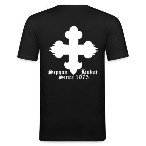 Sipoon_Hukat - Miesten tyköistuva t-paita