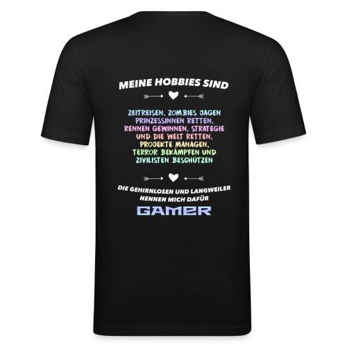 Meine Hobbys - Männer Slim Fit T-Shirt