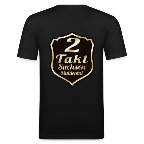 2 Takt Sachsen/ Muldental Merchandising - Männer Slim Fit T-Shirt