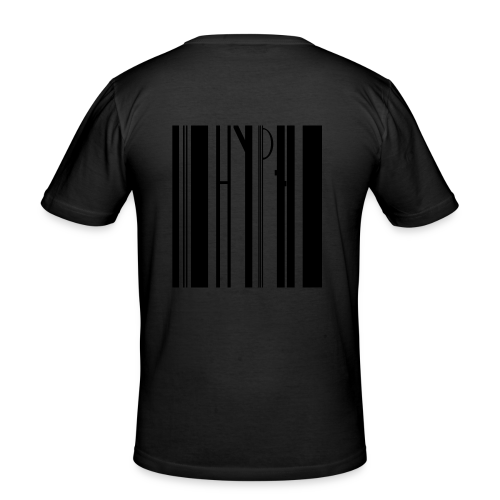 Barcode tee transparent - Männer Slim Fit T-Shirt